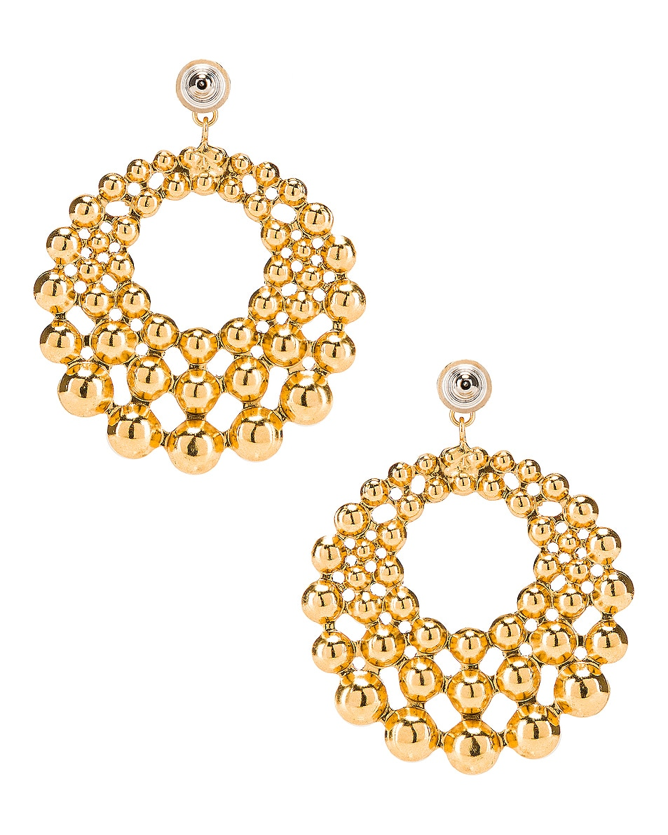Image 4 of Jennifer Behr Prianna Earrings in Gold