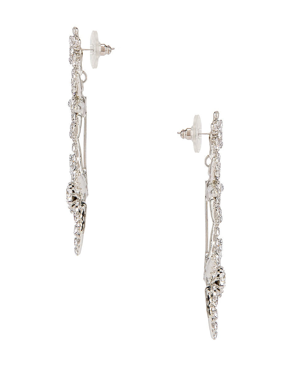 Image 3 of Jennifer Behr Aurelia Earrings in Crystal