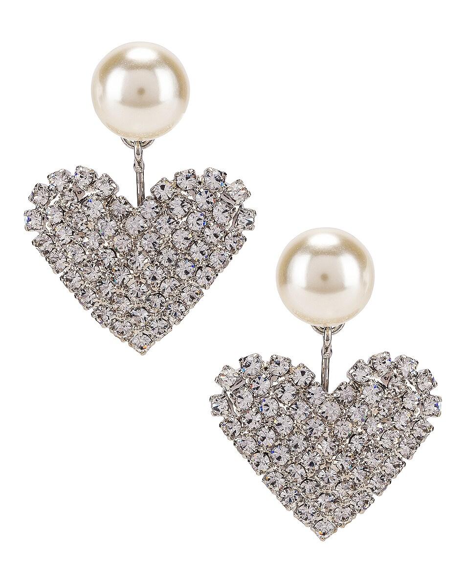 Image 1 of Jennifer Behr Valentine Earrings in Crystal