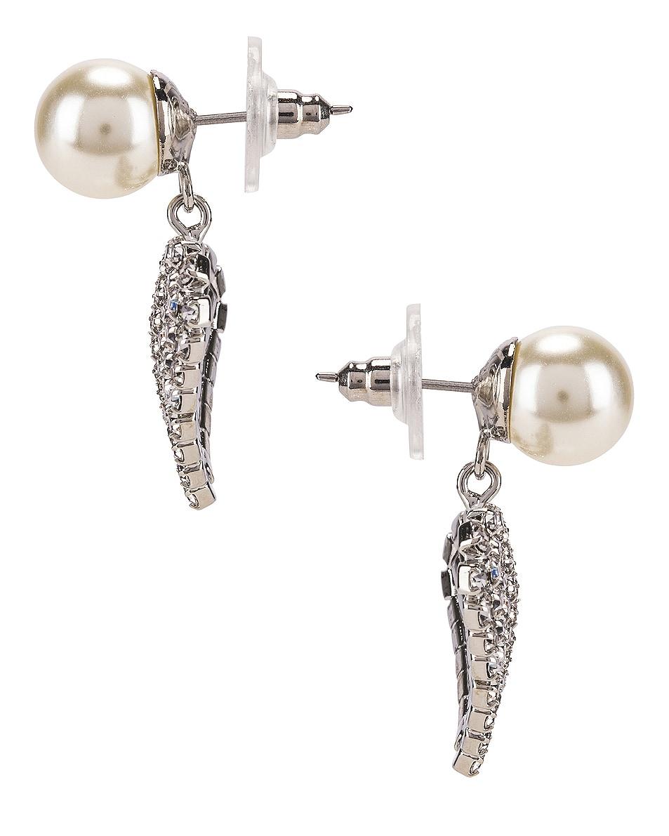 Image 3 of Jennifer Behr Valentine Earrings in Crystal