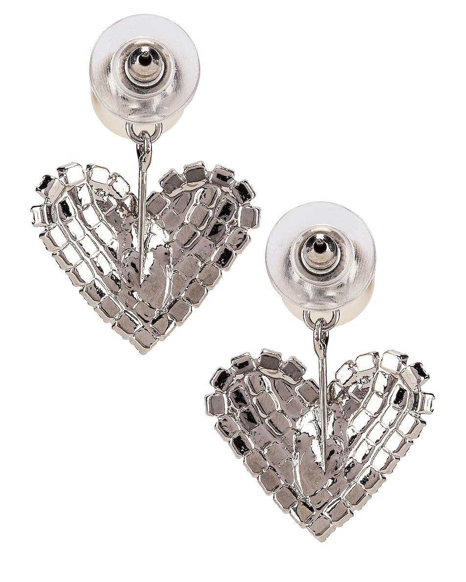 Image 4 of Jennifer Behr Valentine Earrings in Crystal