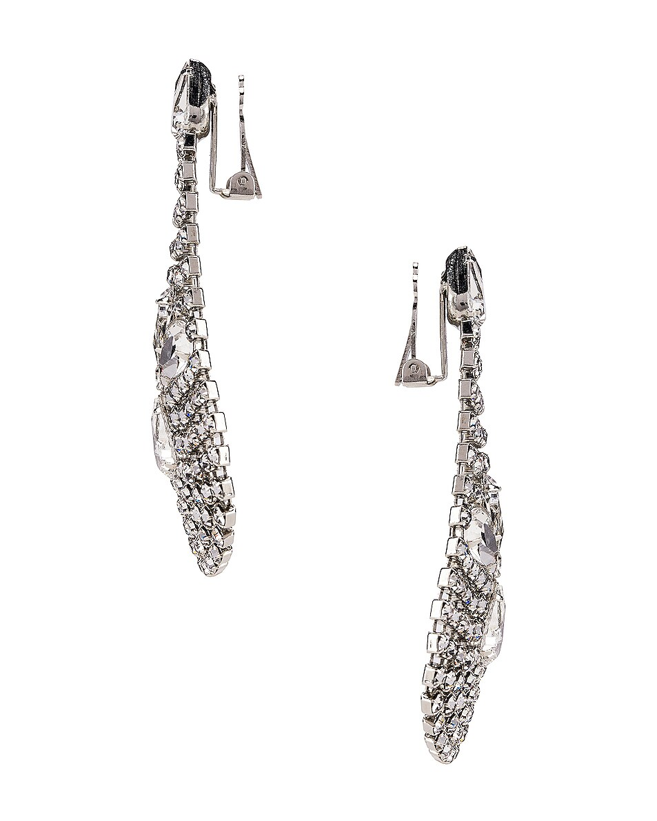 Image 3 of Jennifer Behr Giorgia Earrings in Crystal