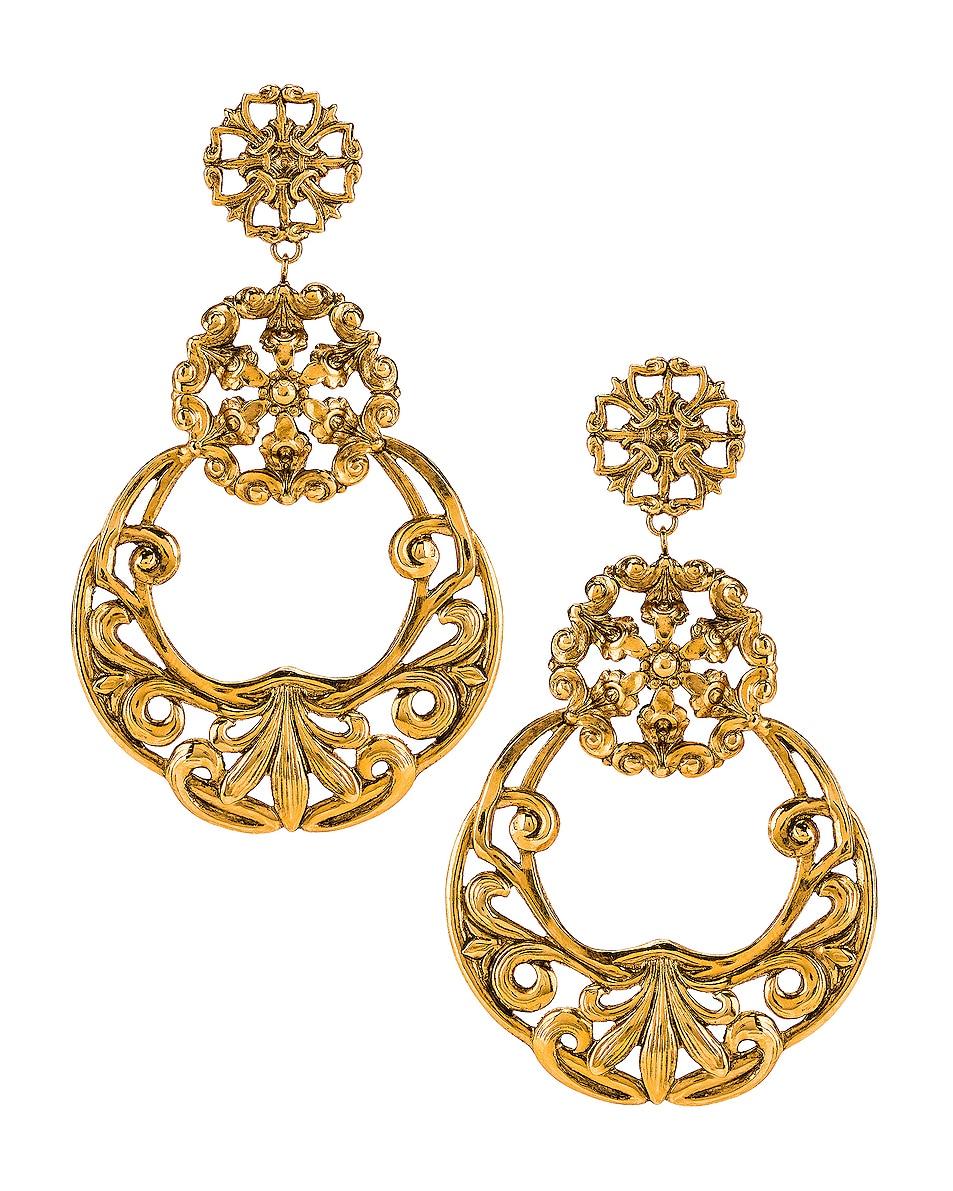 Image 1 of Jennifer Behr Shanna Earrings in Gold