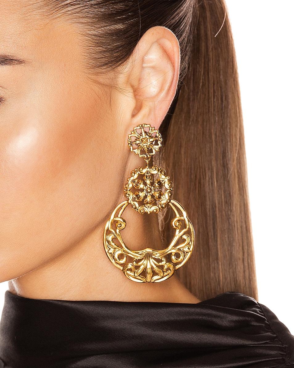 Image 2 of Jennifer Behr Shanna Earrings in Gold