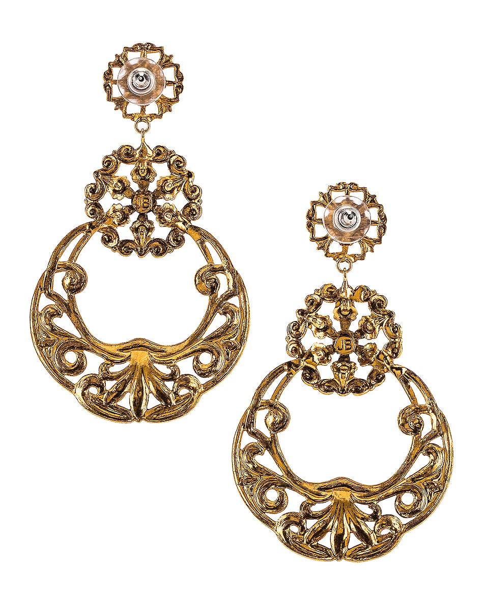 Image 4 of Jennifer Behr Shanna Earrings in Gold