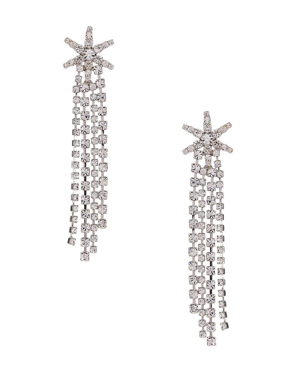 Image 1 of Jennifer Behr Esta Earrings in Crystal