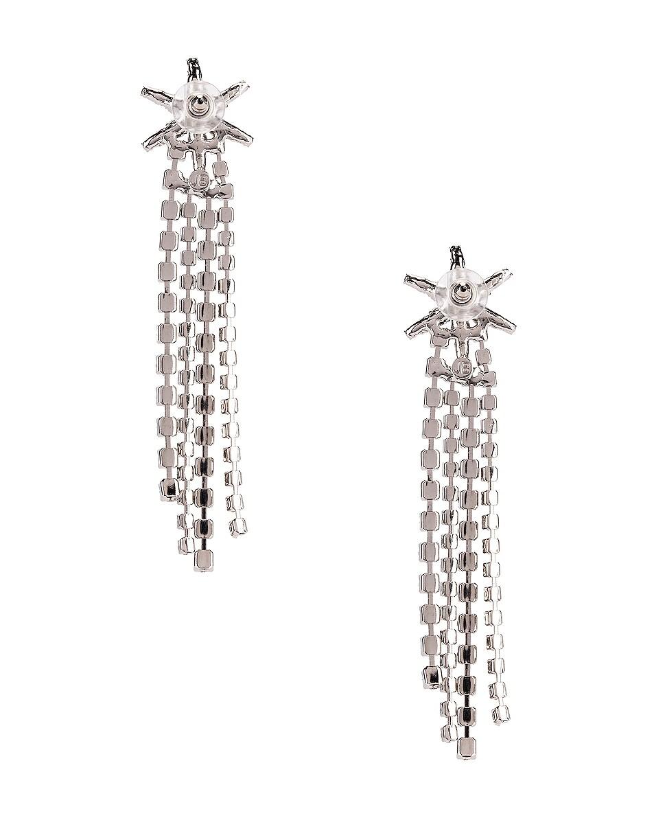 Image 4 of Jennifer Behr Esta Earrings in Crystal
