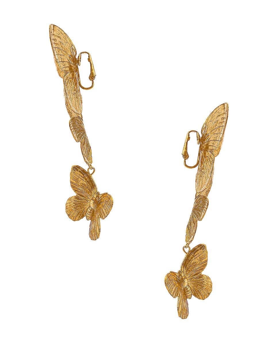 Image 3 of Jennifer Behr Alessandra Earrings in Gold