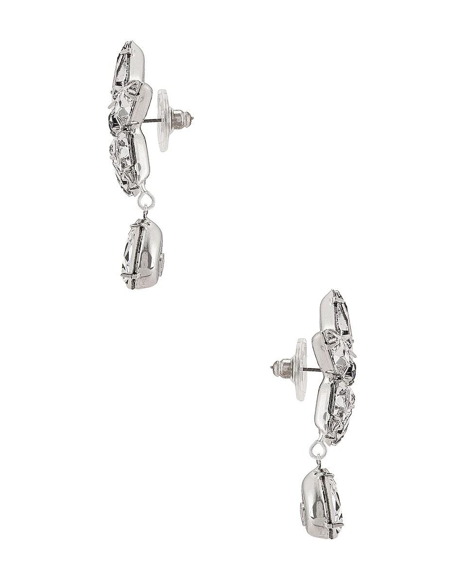 Image 3 of Jennifer Behr Celina Earrings in Crystal