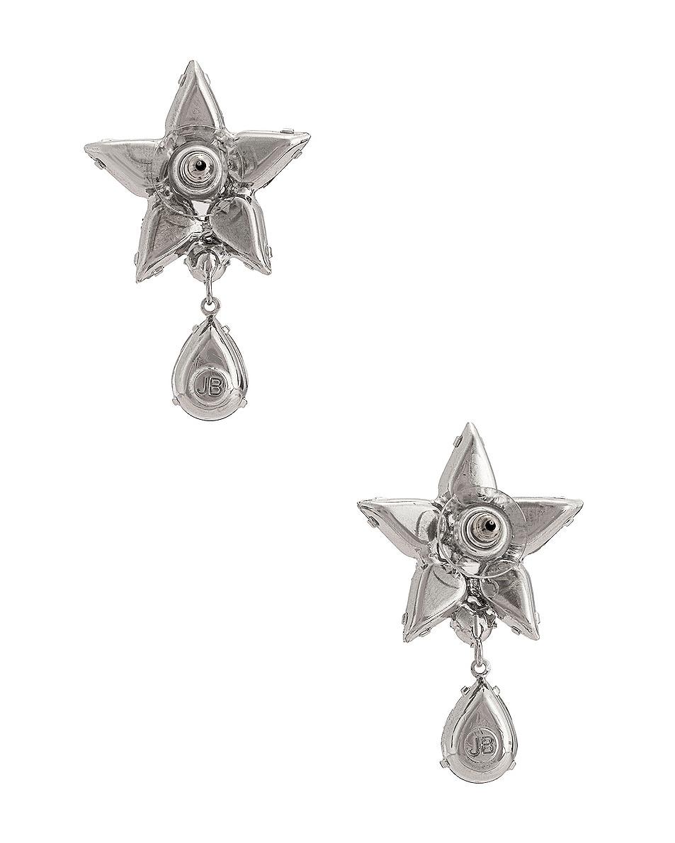 Image 4 of Jennifer Behr Celina Earrings in Crystal