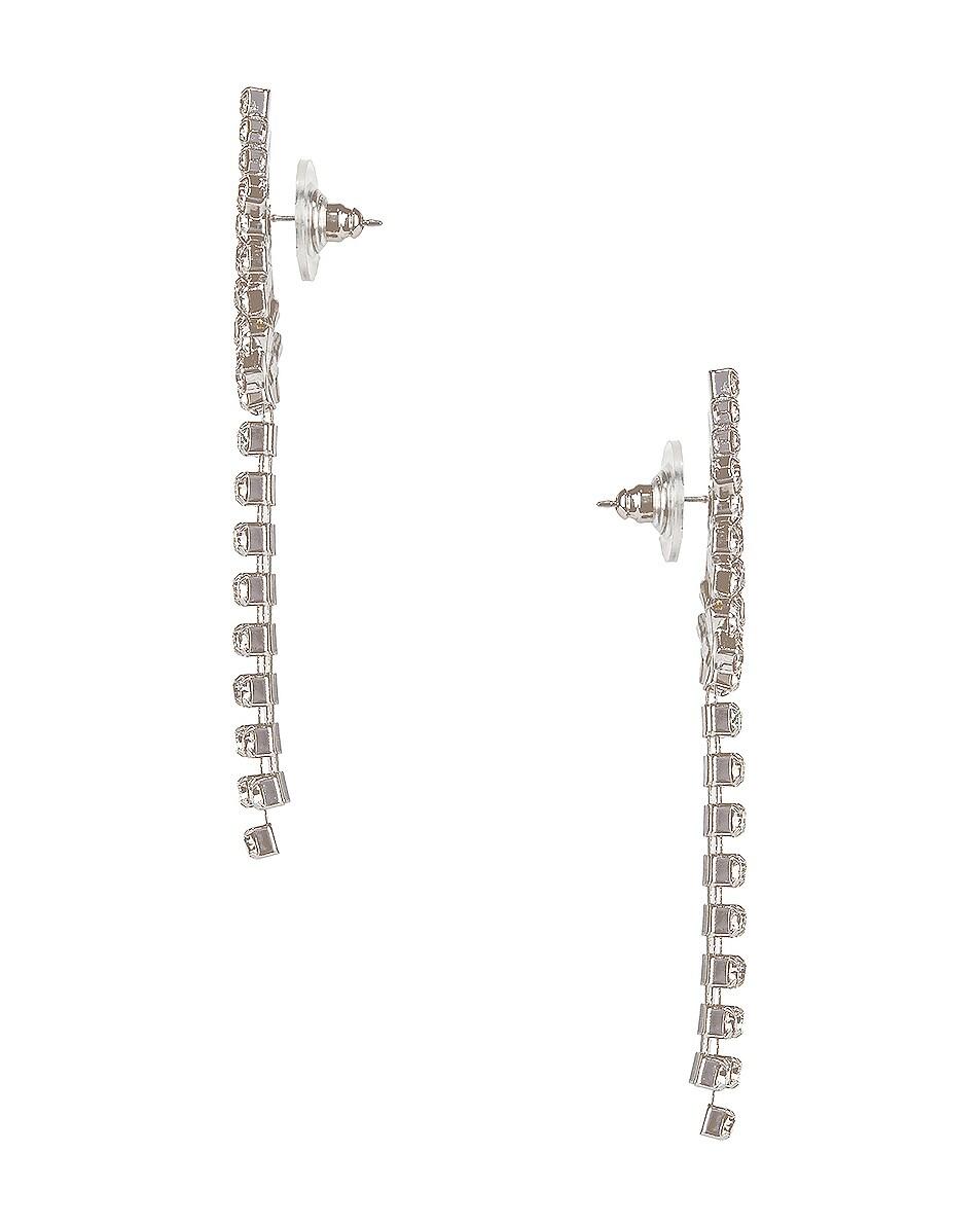 Image 2 of Jennifer Behr Shooting Star Earrings in Crystal