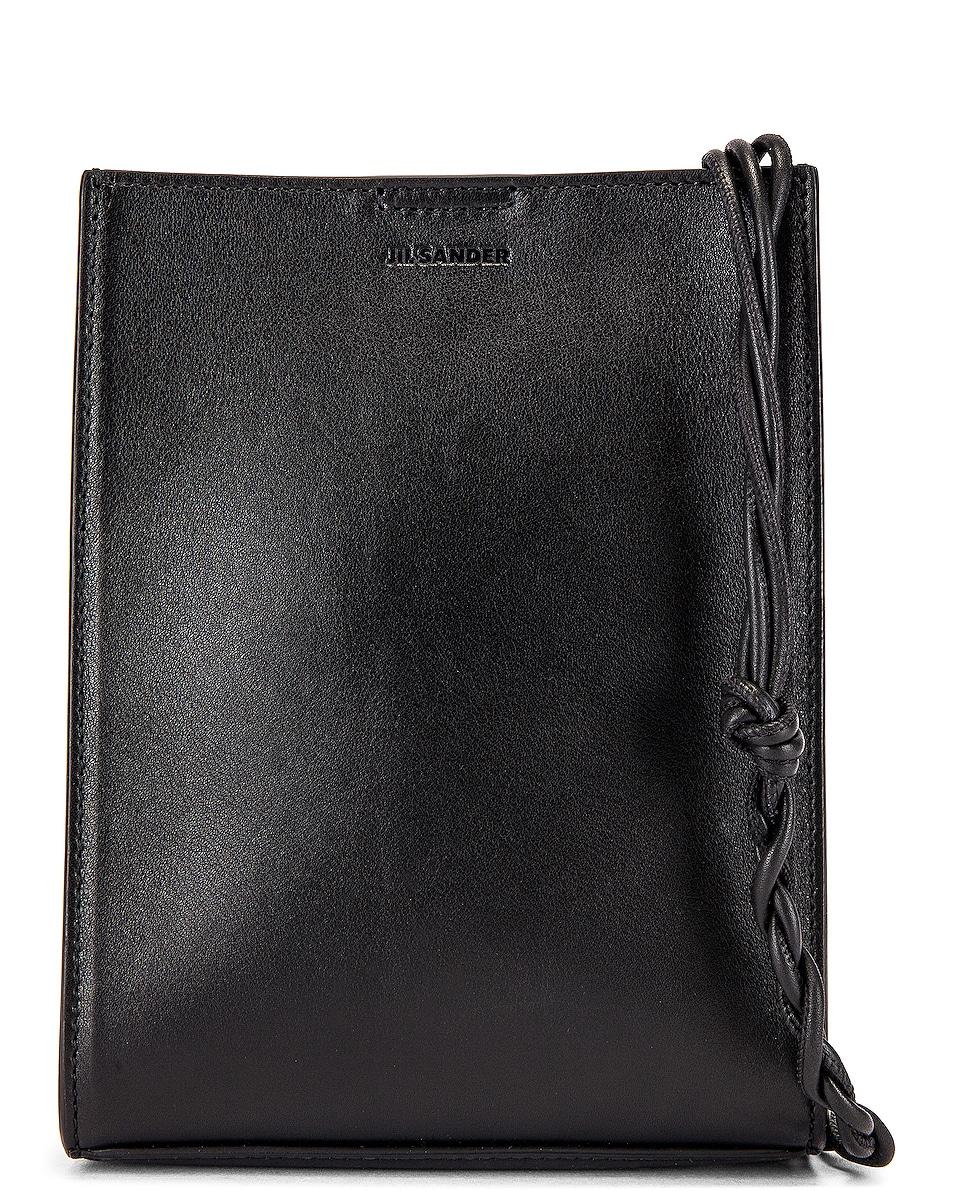 Image 1 of Jil Sander Tangle Crossbody Bag in Black