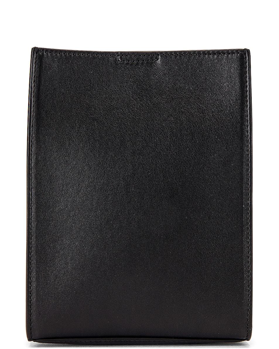 Image 2 of Jil Sander Tangle Crossbody Bag in Black