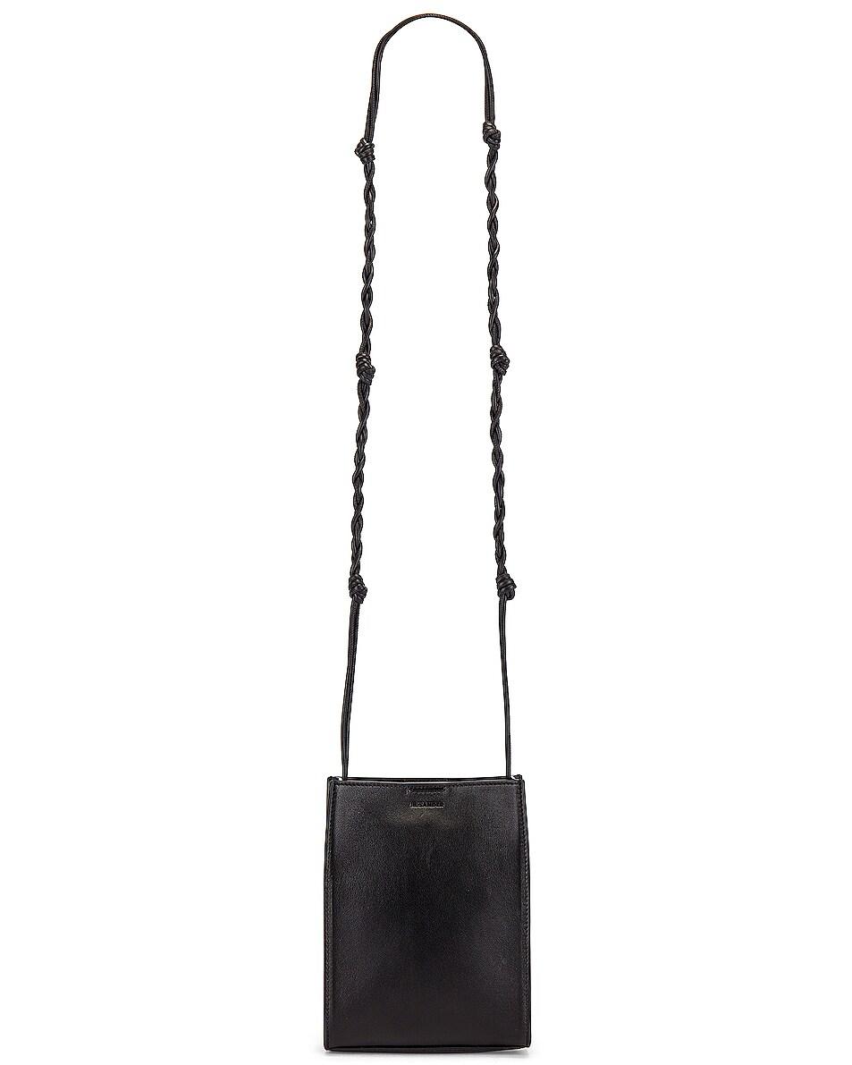 Image 5 of Jil Sander Tangle Crossbody Bag in Black