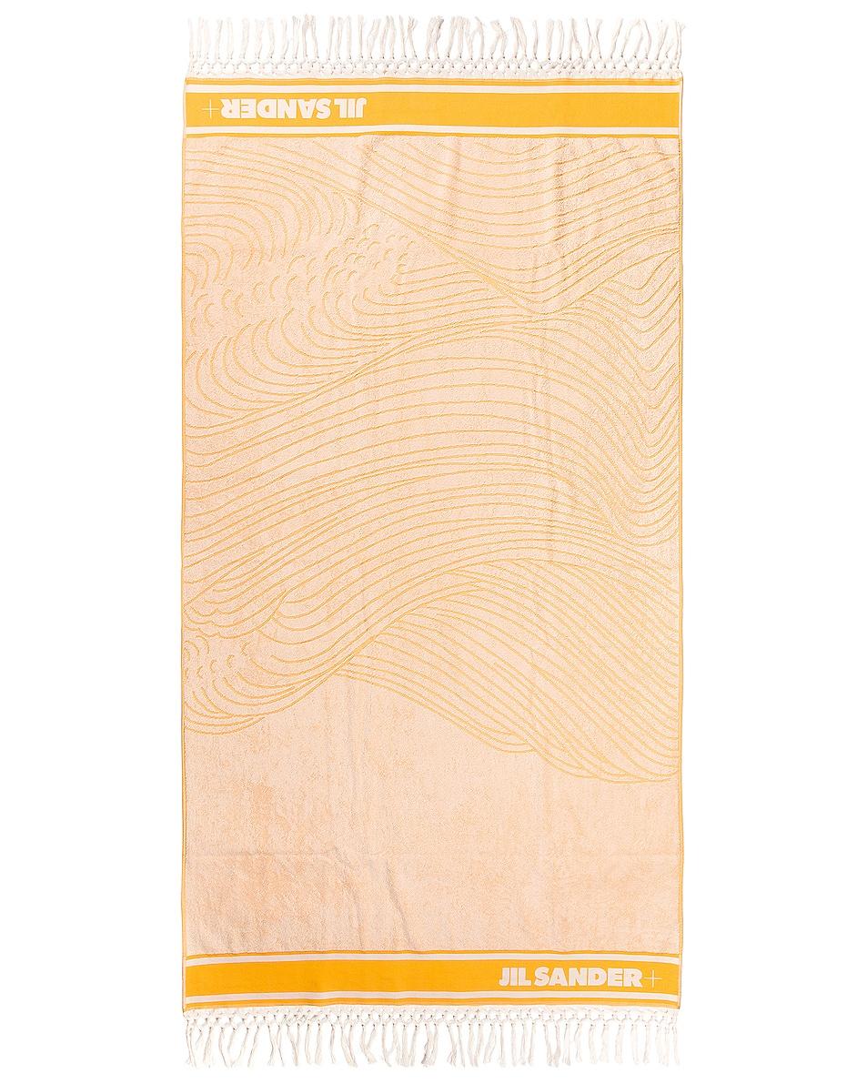 Image 1 of Jil Sander Towel in Open Yellow
