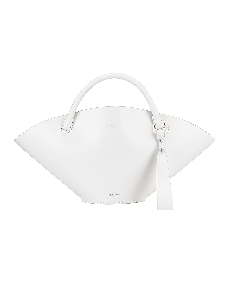 Image 1 of Jil Sander Small Sombrero Tote in Natural