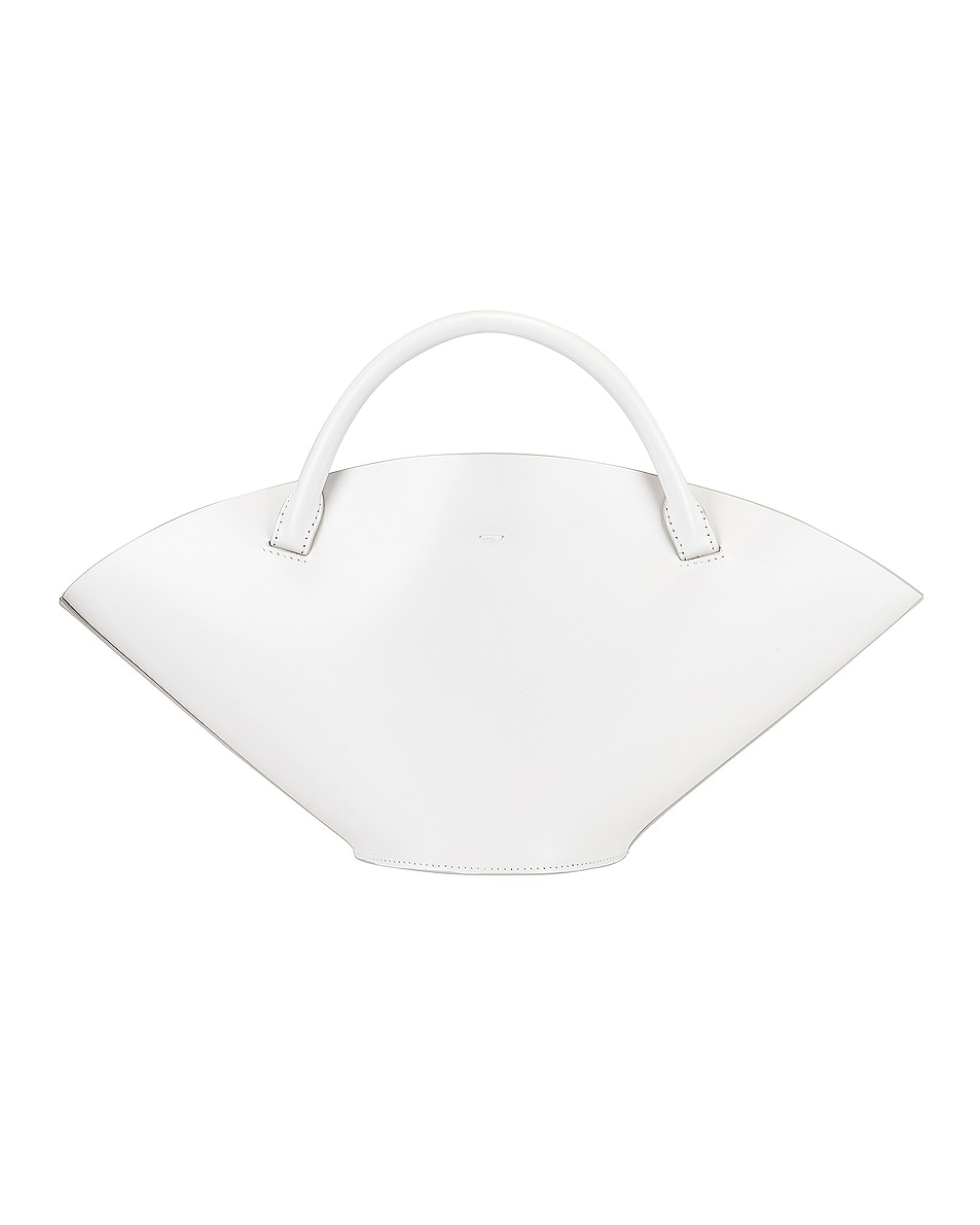 Image 3 of Jil Sander Small Sombrero Tote in Natural