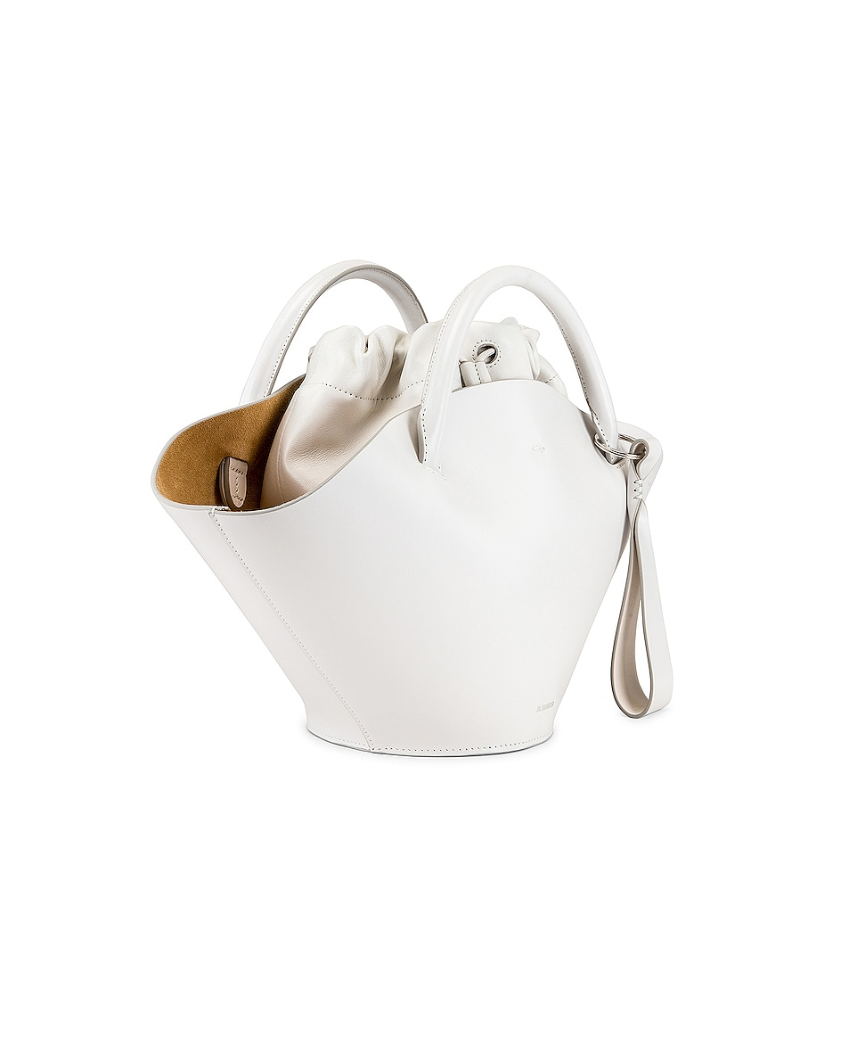 Image 4 of Jil Sander Small Sombrero Tote in Natural