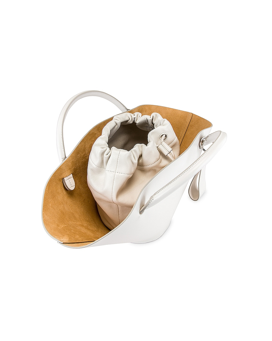 Image 5 of Jil Sander Small Sombrero Tote in Natural