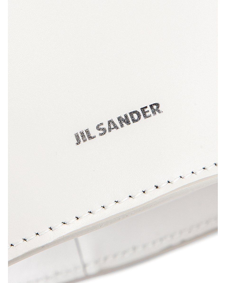 Image 7 of Jil Sander Small Sombrero Tote in Natural