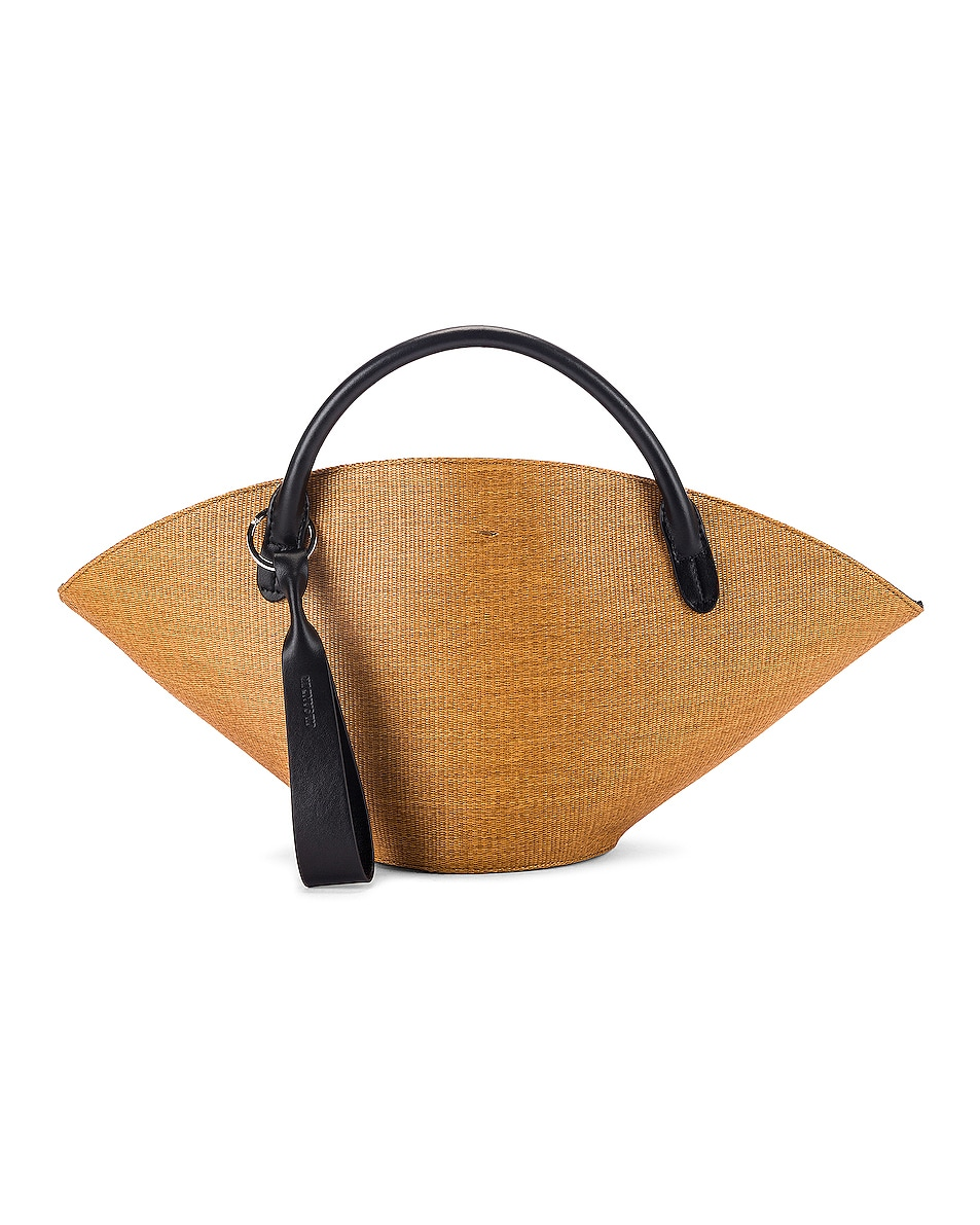 Image 1 of Jil Sander Small Sombrero Tote in Peanuts