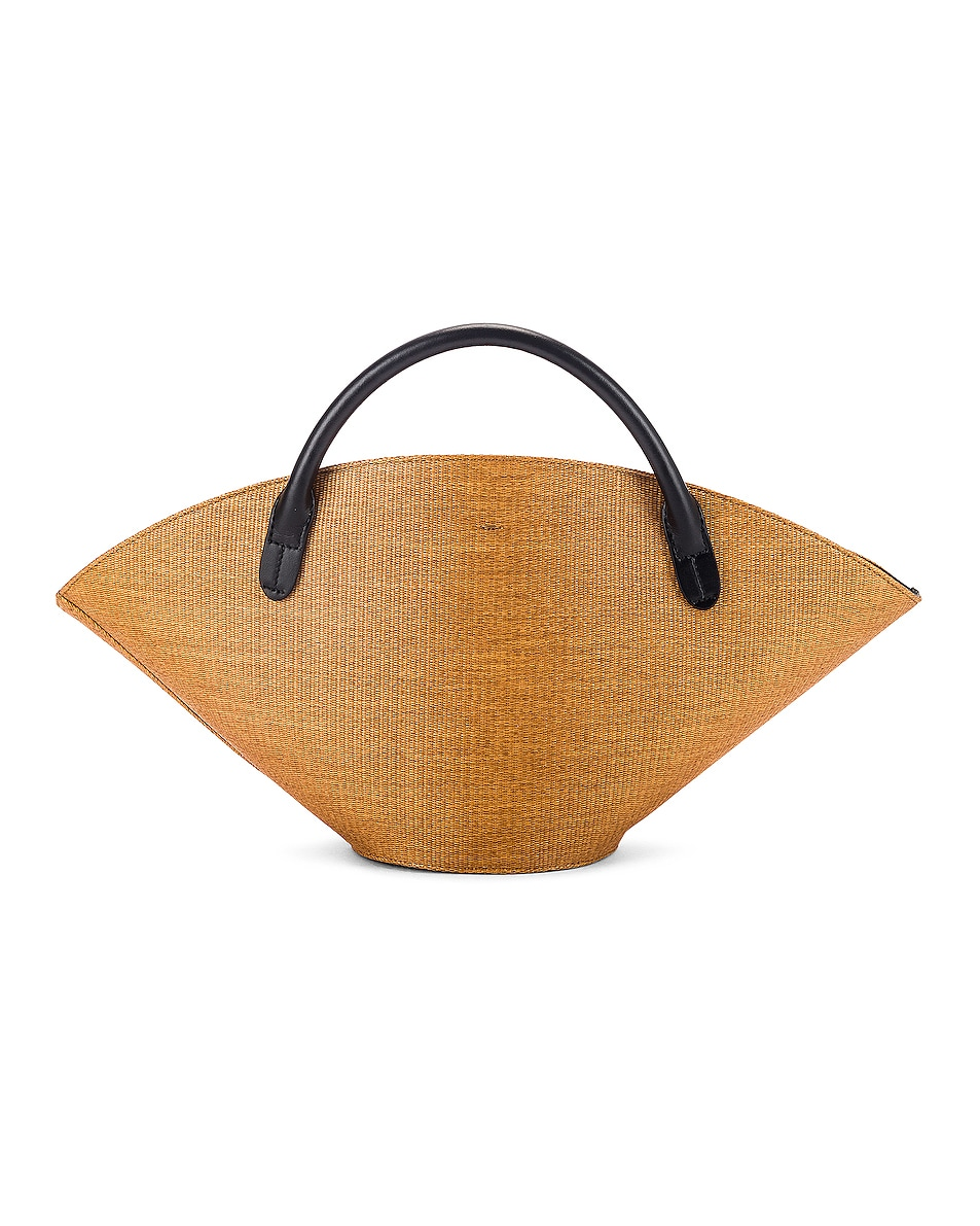 Image 3 of Jil Sander Small Sombrero Tote in Peanuts