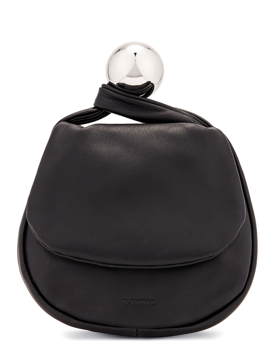 Image 1 of Jil Sander Sphere Pouch Bag in Black