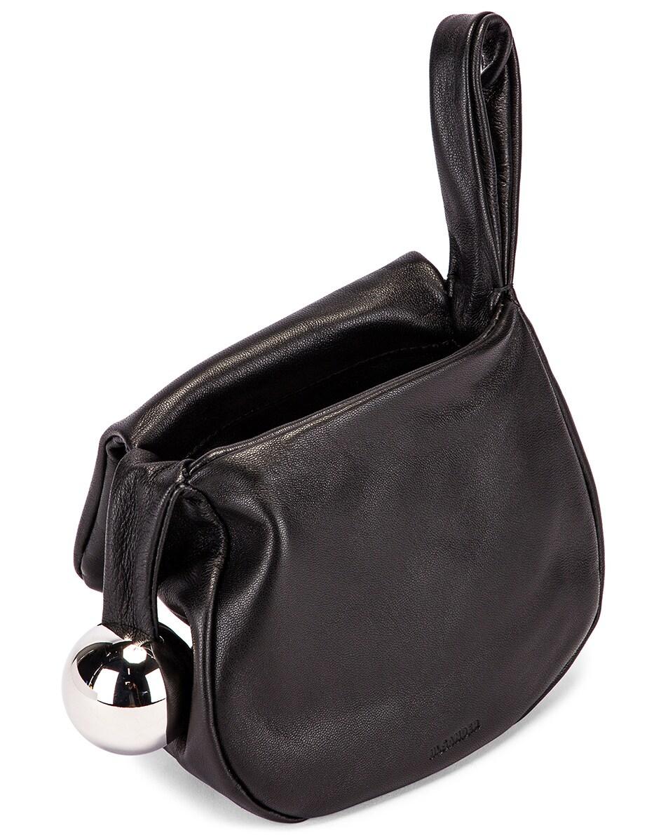 Image 5 of Jil Sander Sphere Pouch Bag in Black