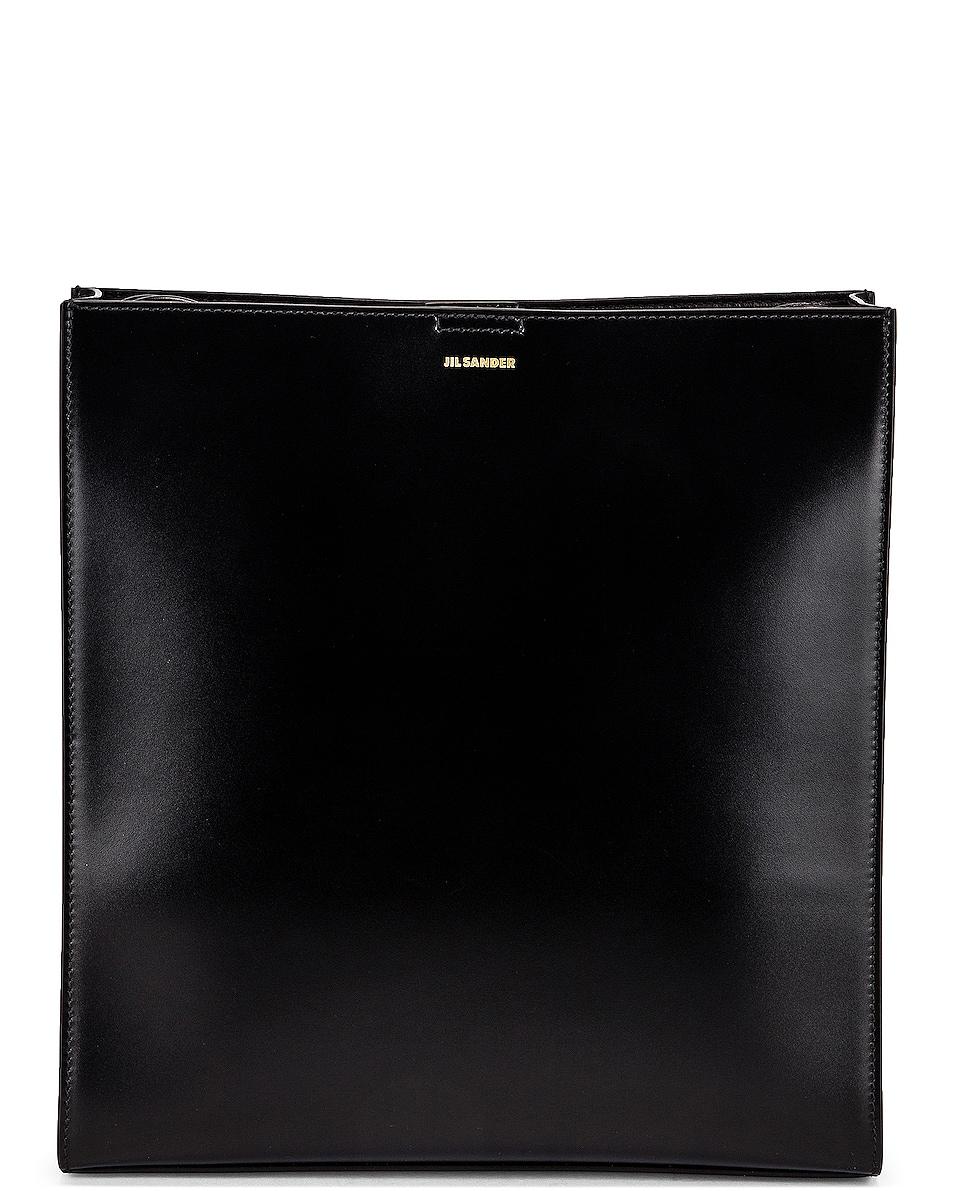 Image 1 of Jil Sander Medium Tangle Bag in Black