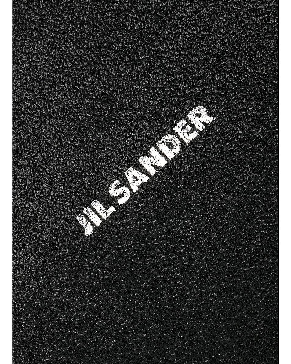 Image 7 of Jil Sander Triangle Mini Bag in Black