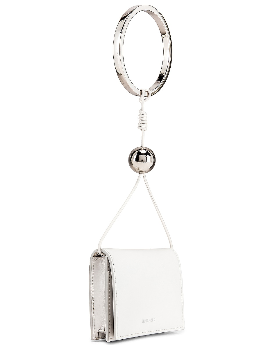 Image 4 of Jil Sander Bracelet Wallet Bag in Natural