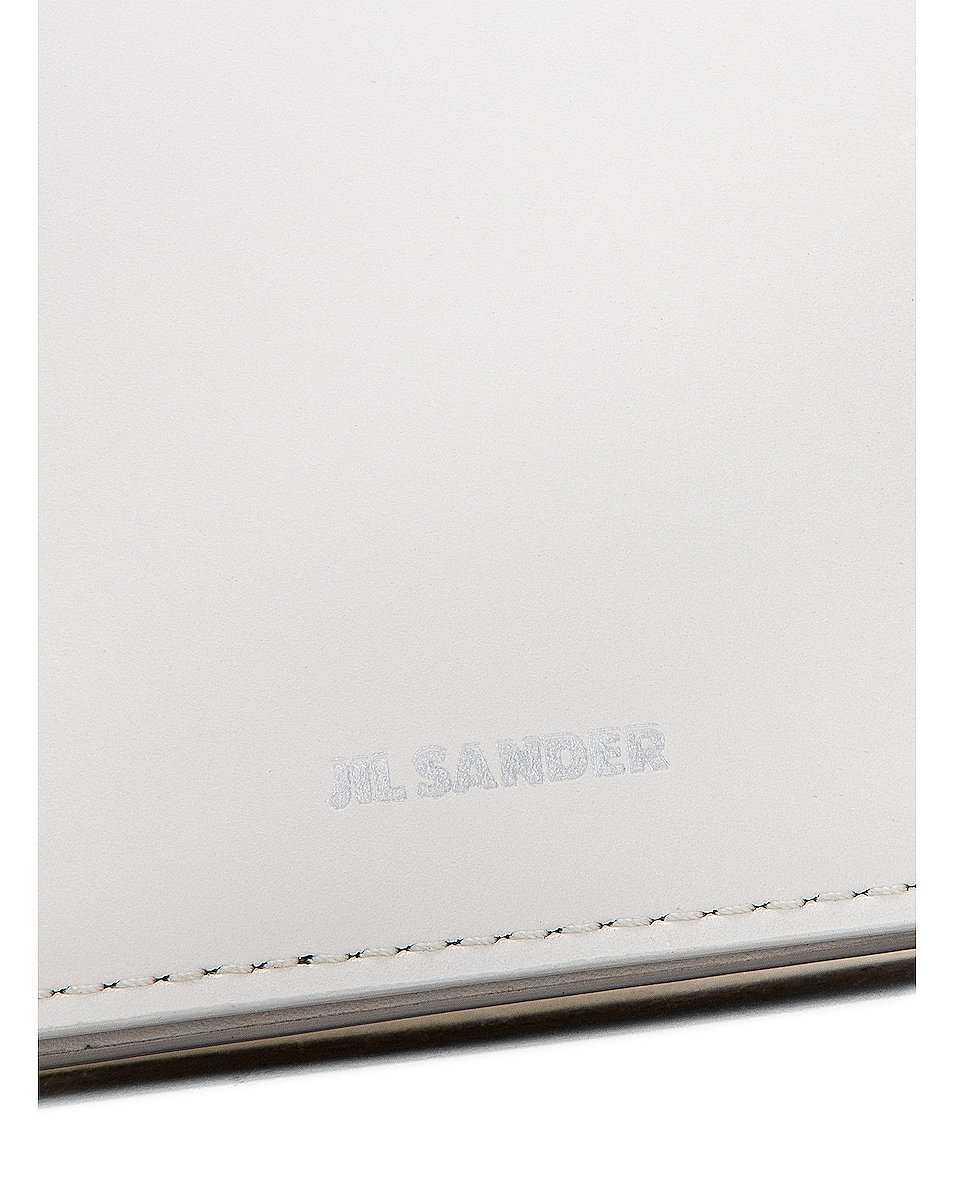 Image 6 of Jil Sander Bracelet Wallet Bag in Natural