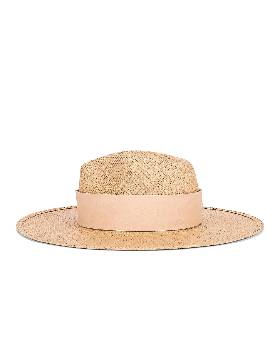 Image 3 of Janessa Leone Clemence Packable Hat in Sand