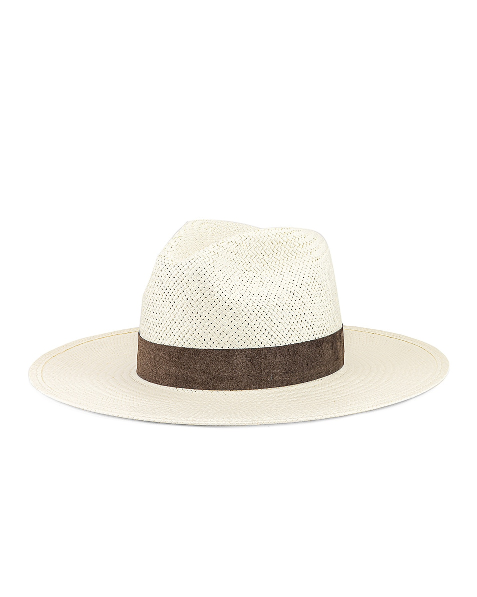 Image 2 of Janessa Leone Marcell Packable Hat in Bleach