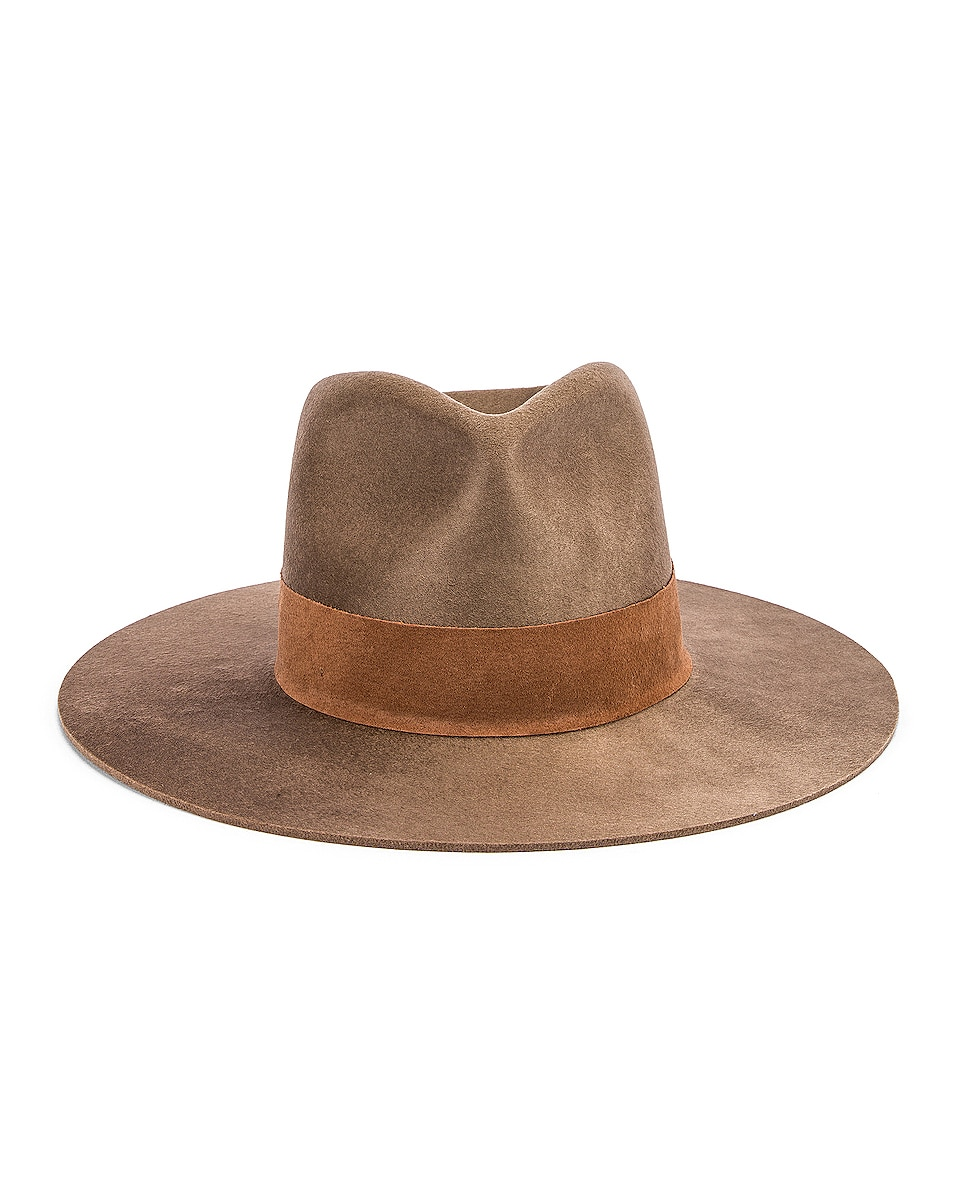 Image 1 of Janessa Leone Alara Hat in Brown
