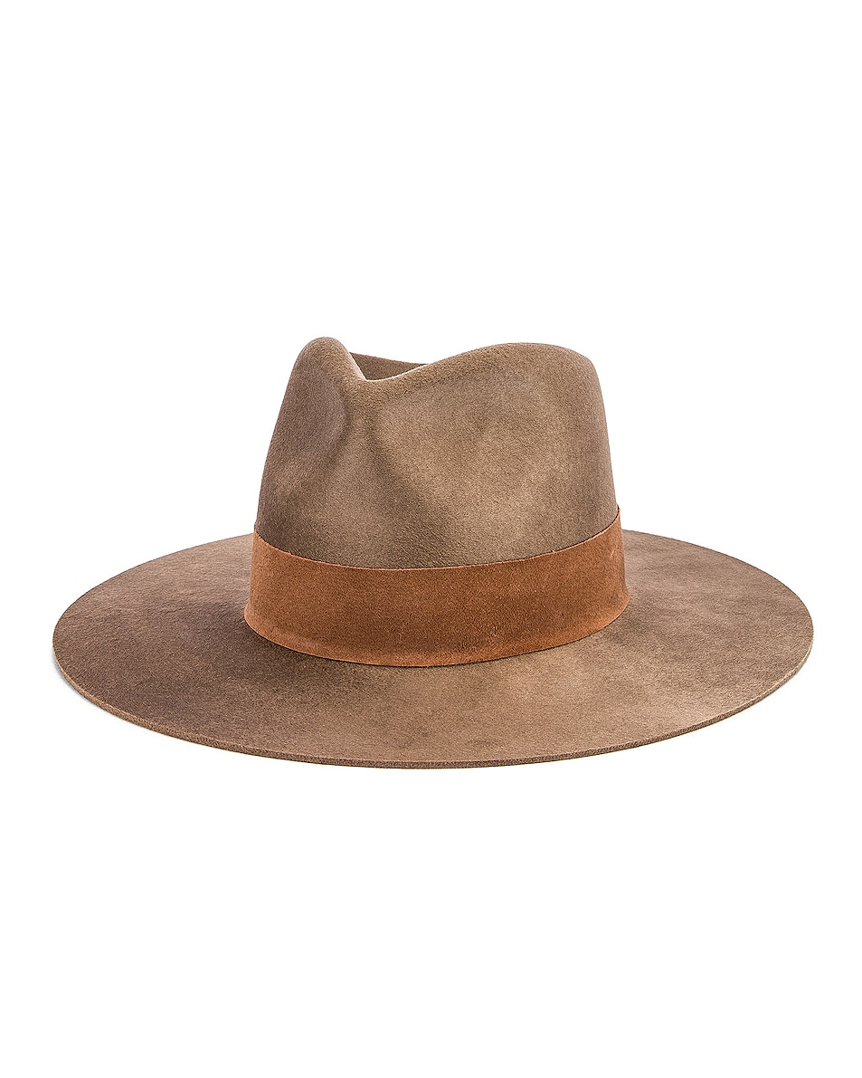 Image 2 of Janessa Leone Alara Hat in Brown