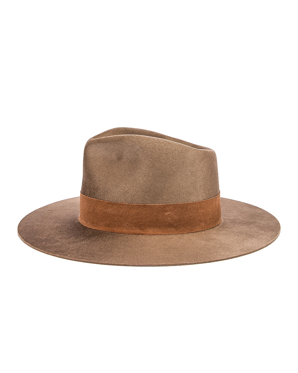Image 3 of Janessa Leone Alara Hat in Brown
