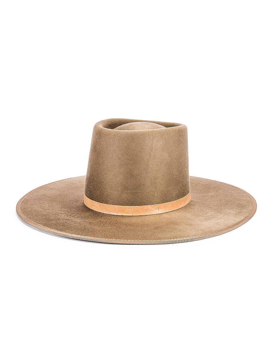 Image 2 of Janessa Leone Edie Hat in Tan