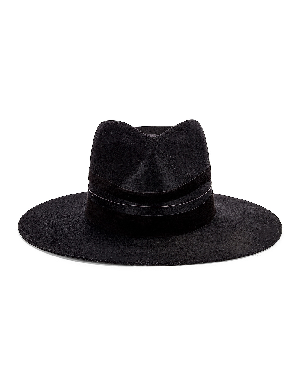 Image 1 of Janessa Leone Austin Hat in Black