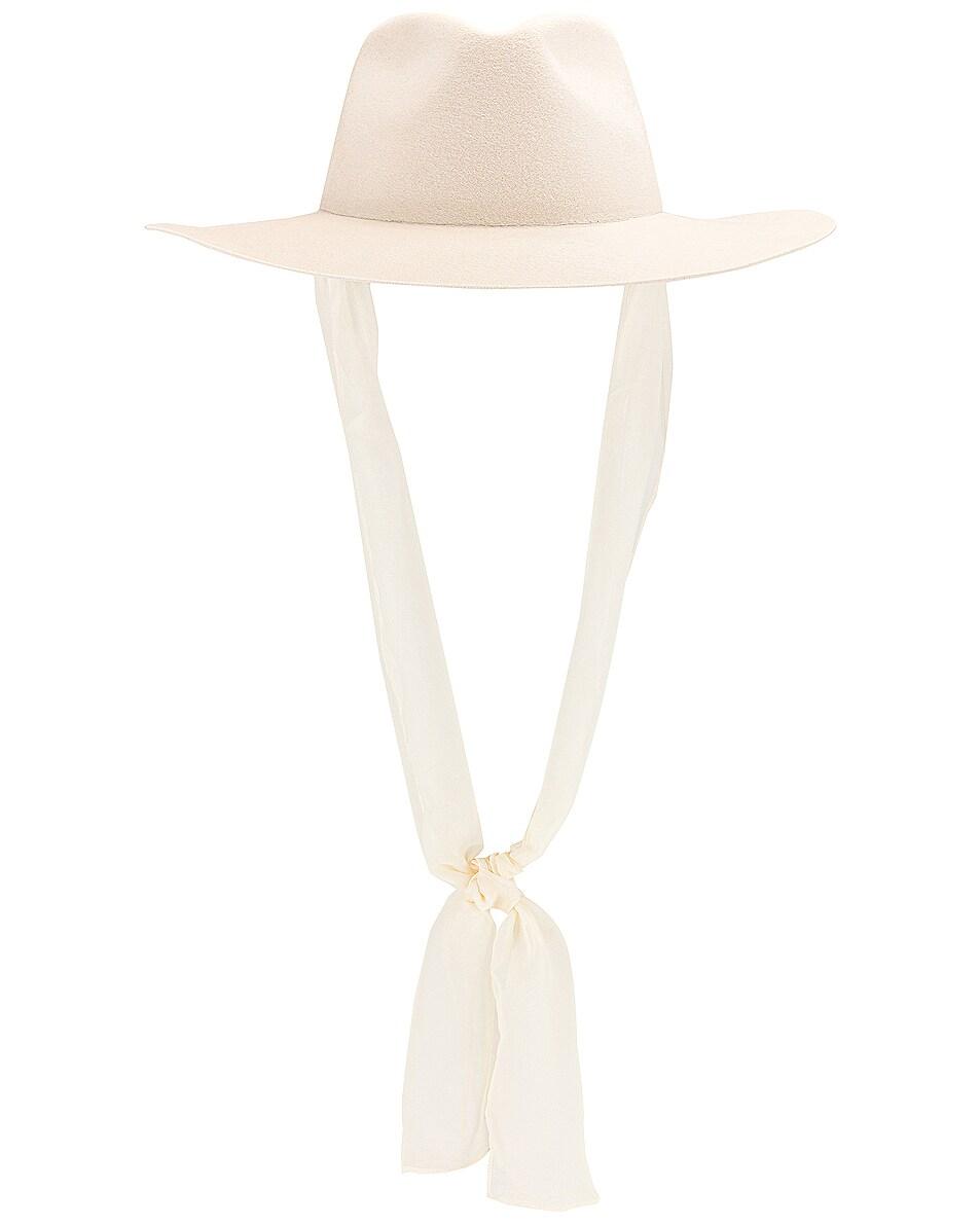 Image 2 of Janessa Leone Ellery Hat in White