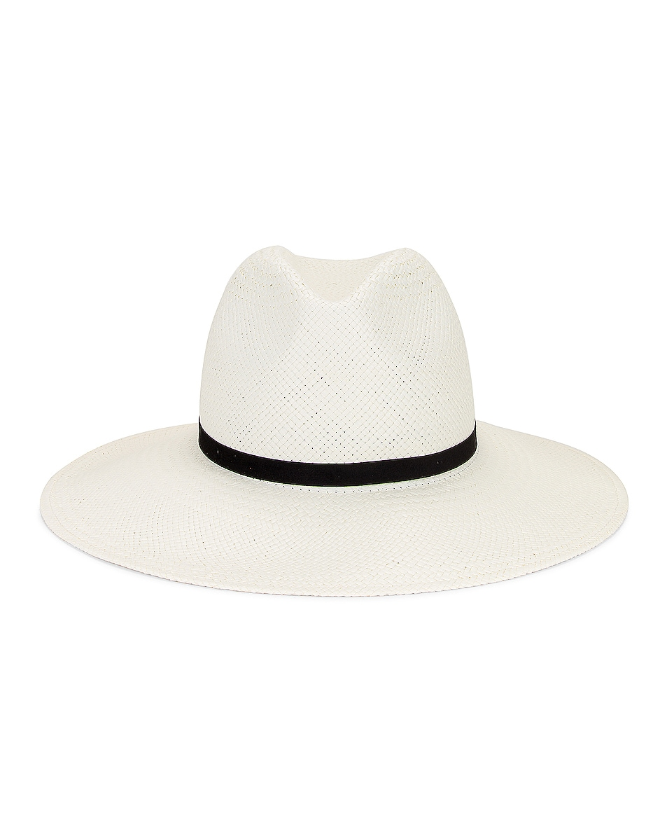 Image 1 of Janessa Leone Demitria Packable Hat in Bleach