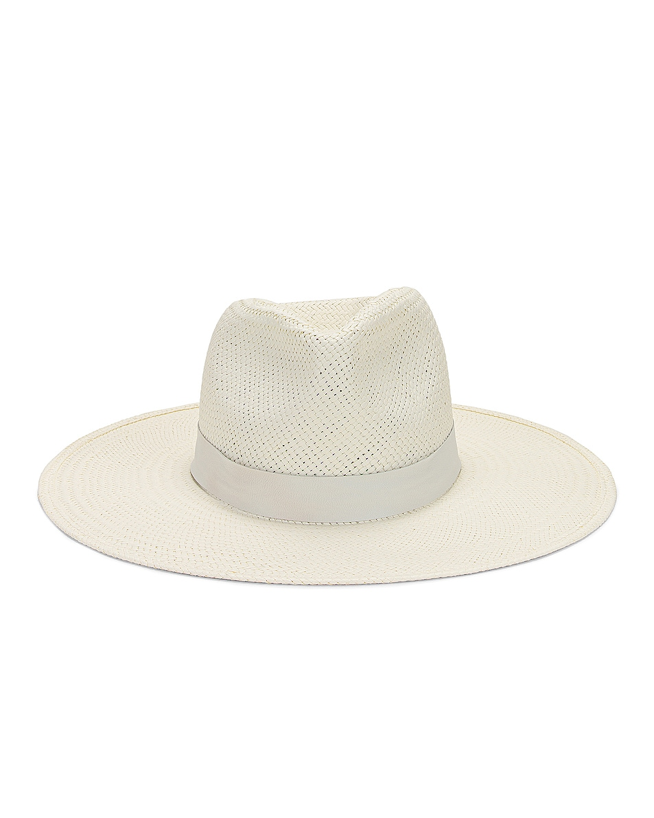 Image 1 of Janessa Leone Zoe Packable Hat in Bleach