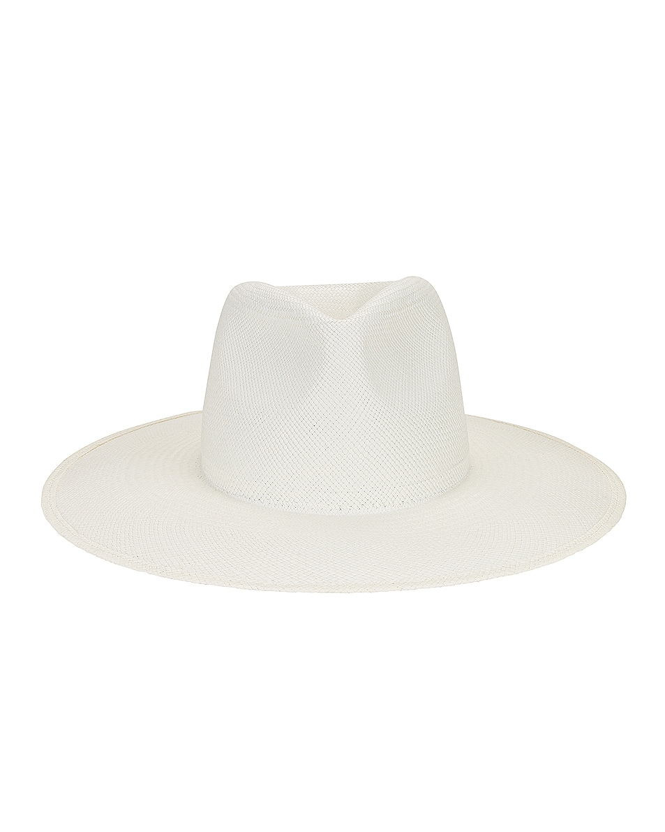 Image 1 of Janessa Leone Oren Hat in Bleach