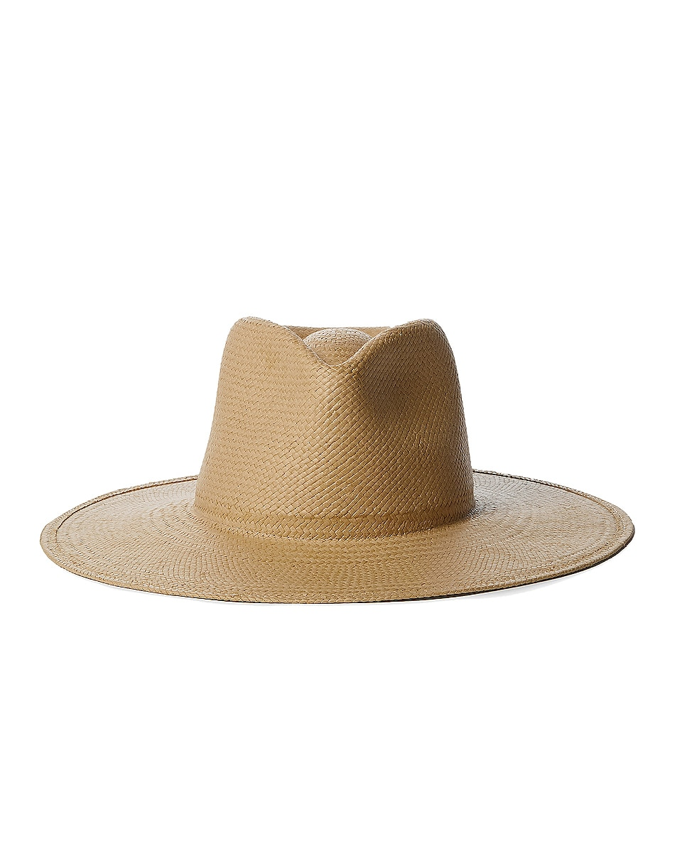 Image 1 of Janessa Leone Francis Packable Hat in Sand