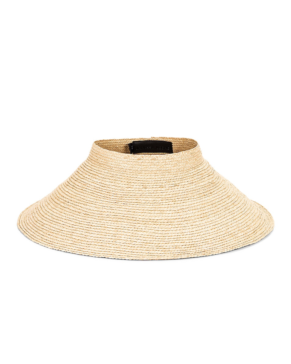 Image 1 of Janessa Leone Nico Packable Hat in Natural