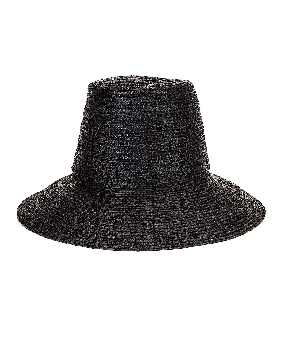 Image 1 of Janessa Leone Wes Packable Hat in Black