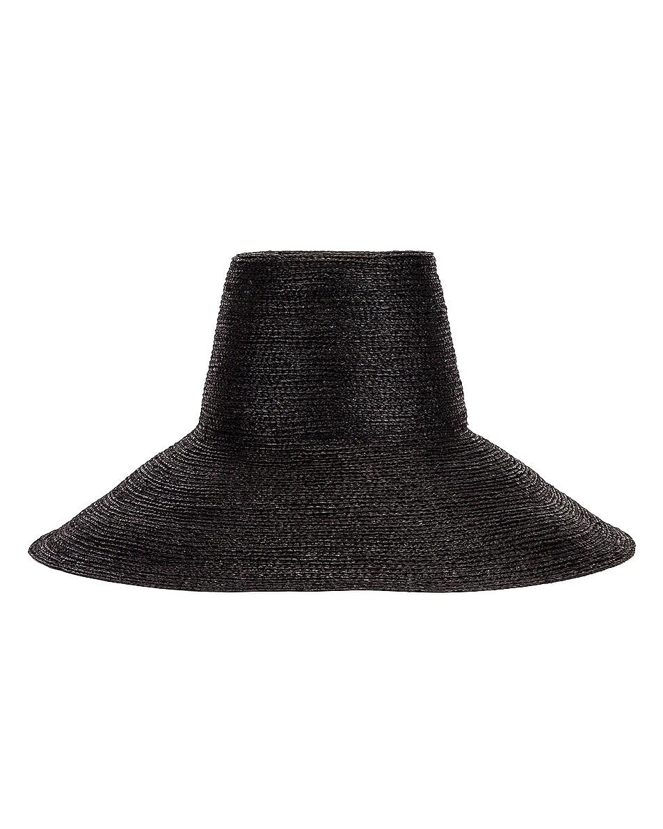 Image 1 of Janessa Leone Janine Bucket Hat in Black