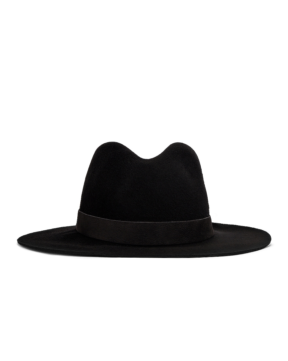 Image 1 of Janessa Leone Luca Packable Hat in Black