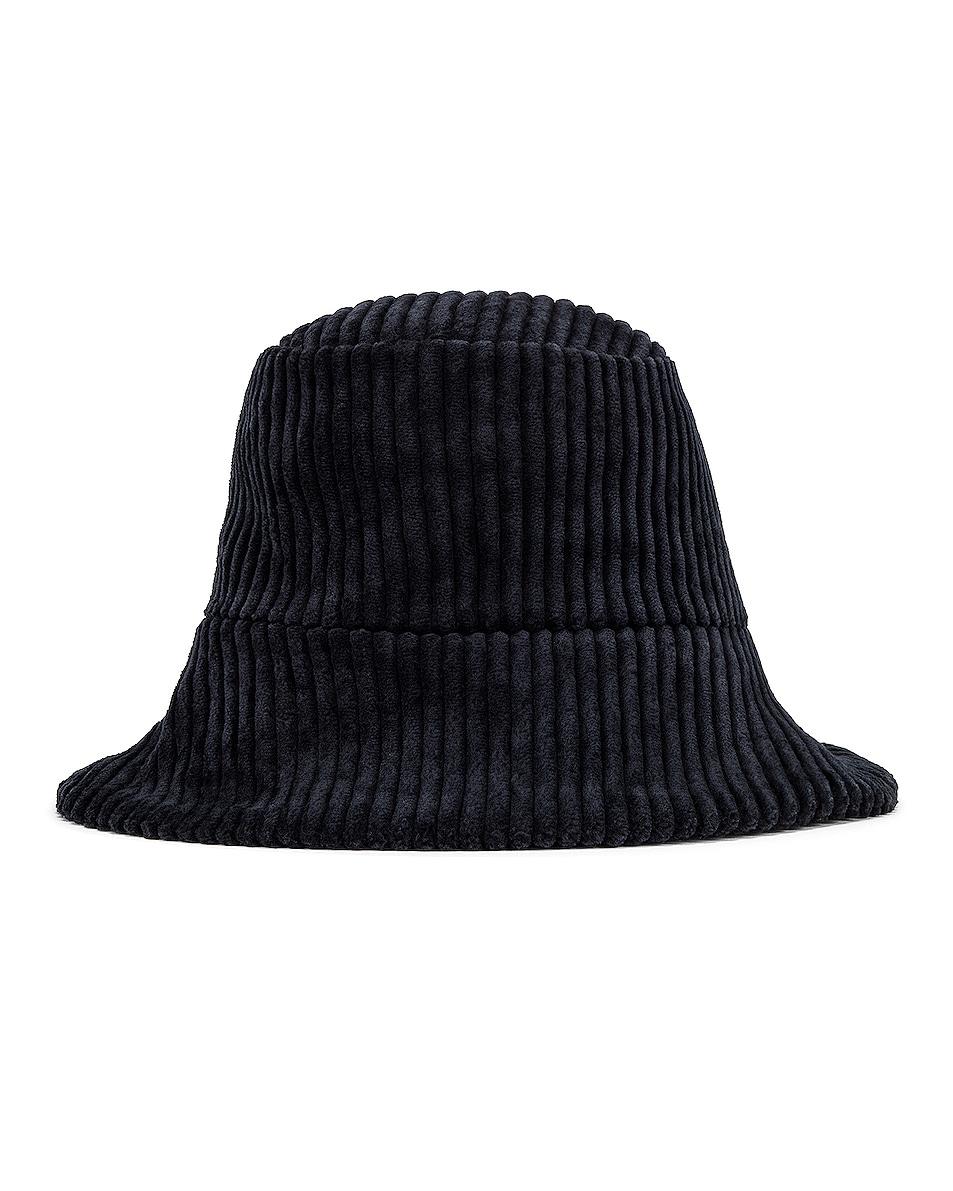 Image 1 of Janessa Leone Tatum Bucket Hat in Navy