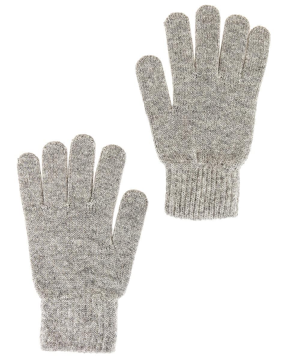 Image 1 of JOHN ELLIOTT Gloves in Heather Grey